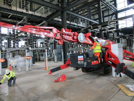 Crane Hire Specialists Supply Power for Electrifying Projects