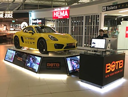 GGR Car Hoist Delivers Dream Car to Stanstead Airport