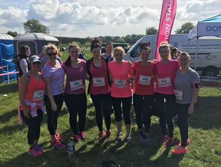 GGR colleagues raise over £500 for Cancer Research UK