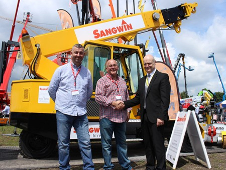 Market leader GGR Group sells Galizia G150  pick and carry crane